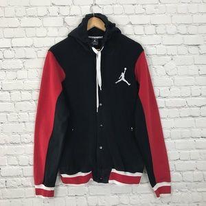 82796fcbe64 Jordan Jackets & Coats - Nike Air Jordan Jumpman Button Up Hoodie Jacket